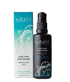 Mukti Organics  Organic Aloe Vera Moisturizer -- This is an Amazon Affiliate link. To view further for this item, visit the image link.