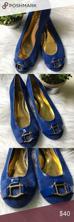 Ralph Lauren Flats Women's Ralph Lauren Cobalt Blue Ballet Flats Lauren Ralph Lauren Shoes Flats & Loafers