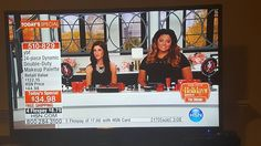 Liz on HSN with YBF Beauty and it was so much fun! Liz and Brit had a great time!