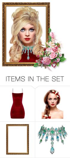 """""""Valentine Makeover"""" by sjlew ❤ liked on Polyvore featuring art"""