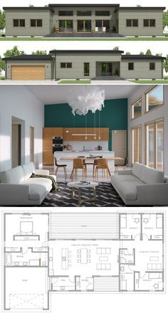 Tiny House Plans 486740672226264346 - Small House Plan, Small Home Plan, Small House Design Source by ammicheconstant Small Modern House Plans, Modern Floor Plans, Simple House Plans, New House Plans, Small House Design, Dream House Plans, Modern House Design, Small Home Plans, Modular Home Plans
