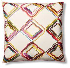 Daydream 22x22 Pillow, Multi