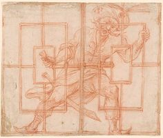 Giuseppe Maria Mitelli | Seraskier Imre Thököly Imprisoned | Drawings Online | The Morgan Library & Museum
