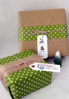 Creative gift wrapping idea