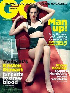 Kristen Stewart - GQ UK Magazine - Nov  /11.... Gorgeous!!!