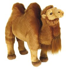 Lelly National Geographic Bactrain Camel Plush Toy