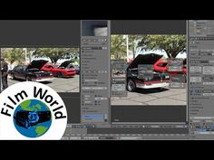 Stabilize shaky video footage using Blender (free software)