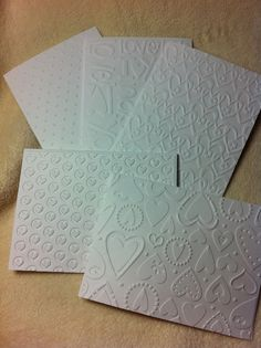 Items similar to Embossed Note Sets of Very Beautiful Valentine Themed Embossed Note Cards and Envelopes on Etsy I Love You Text, Valentine Theme, Valentine Greeting Cards, Homemade Valentines, Mini Heart, Homemade Cards, Emboss, Note Cards, Envelope