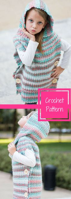 Warm Me Up Pullover - Kid's Crochet- Sweater Crochet Pattern- Available for Download after Purchase #ad