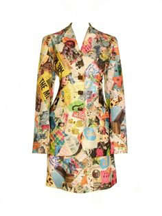 1990s Todd Oldham Graffiti Suit
