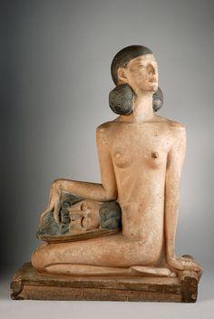 Hagop Gurdjian (1881 - 1948) - Salomé, tenant la tête de Jean-Baptiste, 1926
