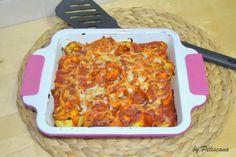 Rondelis ao molho de tomate