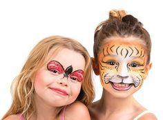 Tigress And Lady Bud Halloween Makeup Ideas