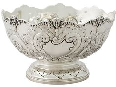 Sterling Silver Presentation Bowl by Charles Stuart Harris - Antique Victorian  SKU: A4405 Price  GBP £995.00  http://www.acsilver.co.uk/shop/pc/Sterling-Silver-Presentation-Bowl-by-Charles-Stuart-Harris-Antique-Victorian-41p8192.htm