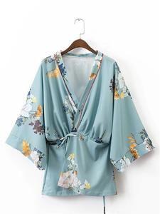 Floral Boho Kimono Cardigan Jacket-Beautify Sweden