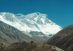 "The first time I trekked the Everest Base Camp Trail and saw Chomolungma (Mt. Everest) in the distance was fall 1995.  See other photos and read about trekking to the top of the world in ""Nepal Himalayas in the Moment"".  http://www.amazon.com/Jeff-Rasley/e/B004Q3D6B2"