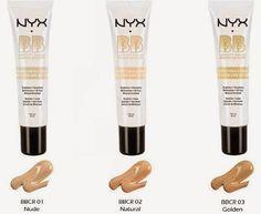 Beleza e etc..: Bb Cream Oil-free Nyx Base Facial