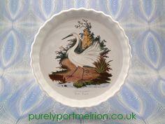 Portmeirion Birds Of Britain Vintage 10 Inch Flan Dish