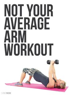 This arm workout will have you feeling the BURN!