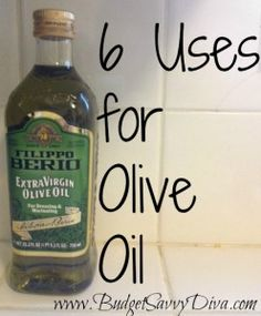 6 Uses for Olive Oil:  cast-iron pans, wicker furniture, leather scratches, wood polish, stainless steel, paint remover (from hands).