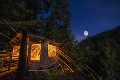 We had an amazing night camping on the last full moon. Full post and images at http://www.onelifeonewhistler.com/hippy-lake/