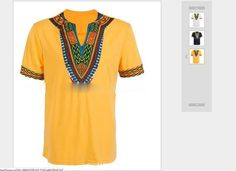 African Shirt is durable enough for your daily wearing, it has a stylish fashion design that makes you more attractive. African Attire, African Fashion Dresses, African Shirts, Black Slacks, 3d T Shirts, Loose Pants, Style Hair, Fashion Prints, Shirt Men