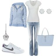 Like everything except the purse and the jewelry. It should be a little smaller too but oh well