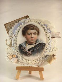 Heidis kortlagingsblogg: Vintage maritim gutt