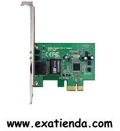 Ya disponible Tarj. red tp link gigalan PCIEXpress 1.0   (por sólo 17.95 € IVA incluído):   - Interfaz: PCI Express de 32 bits (Gigabit) - 1 puerto RJ45: 10/100/1000 Mbps - Promedio datos: 10/100/1000Mbps para el modo Half-Duplex 20/200/2000Mbps para el modo Full-Duplex - Control de flujo IEEE 802.3x (Full-Duplex)  - P/N:TG-3468 Garantía de 24 meses.  http://www.exabyteinformatica.com/tienda/3031-tarj-red-tp-link-gigalan-pciexpress-1-0 #tarjetas #exabyteinformatica