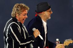Pete Townshend and Roger Daltrey Collaborating for 'Mods and Rockers' TV Show Pork Pie Hat, Pete Townshend, Roger Daltrey, Rockers, Tv Series, Tv Shows, Entertainment, Music, Musica