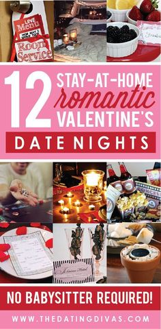 These are such creative at-home date night ideas! Can't wait to have a romantic evening at home this year! day dinner for husband Over 100 Romantic Valentine's Day Date Ideas - From The Dating Divas Romantic Valentines Day Ideas, Valentines Date Ideas, Valentine Day Love, Valentine Day Crafts, Valentine Day Dinner Ideas, Valentine Ideas For Husband, Dating Divas, Diy Spring, Day Date Ideas