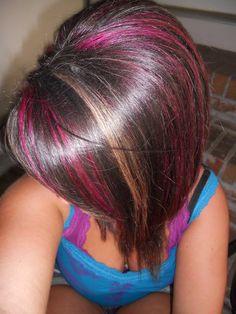 ... highlights more hair pink hairstyles haircuts pink hair blonde hair 1