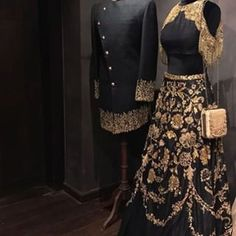 End Customization with Hand Embroidery & beautiful Zardosi Art by Expert & Experienced Artist That reflect in Blouse , Lehenga & Sarees Designer creativity that will sunshine You & your Party. Indian Wedding Gowns, Wedding Dress Men, Indian Bridal, Indian Dresses, Indian Outfits, Groom Wedding Outfits, Pakistani Bridal, Suit Fashion, Look Fashion