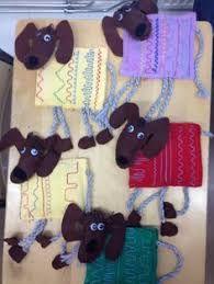 Kuvahaun tulos haulle sormivirkkaus alkuopetus Diy Crafts For School, Summer Crafts For Kids, Art For Kids, Kids Crafts, Arts And Crafts, Yarn Crafts, Felt Crafts, Textiles, Art Lessons Online