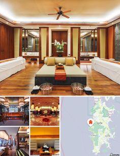 O hotel localiza-se aproximadamente a meio da costa oeste de Phuket, no cristalino Mar de Andamão. Aninhado numa suave colina com vista para a baía de Kamala e o oceano, o hotel fica apenas a alguns minutos dos melhores restaurantes de Phuket, Silk Phuket e lojas no The Plaza Surin, bem como de atrações turísticas e outros resorts de qualidade. O hotel situa-se perto do aeroporto de Phuket, a cerca de 28 km de distância.