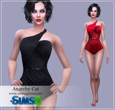 Anarchy-Cat: Swimsuit 2 • Sims 4 Downloads