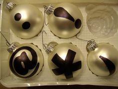 Texting Balls — DIY Ornament #10