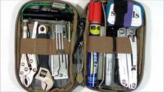 Micro Pocket Organizer Tool Kit: 100 Items for Car/Truck Glove Box, EDC Bag, Kitchen Drawer, etc.!