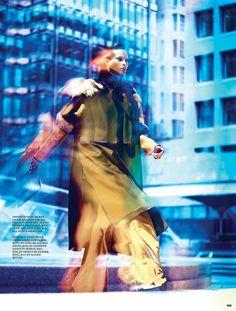 Power Station | Yasmin Warsame | Francisco Garcia #photography | Fashion Magazine October 2012
