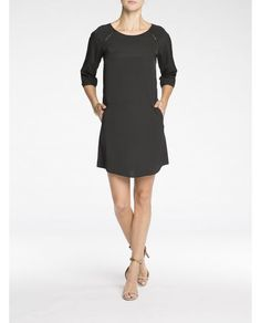 Contrast Sleeve Dress - Scotch