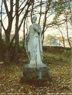 Recent Photograph of Statue of Fair Flora (Stoke)