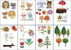 숲속친구들 소스 : 네이버 블로그 Entryway Decor, Bedroom Decor, Frog Crafts, Woodland Theme, Art For Kids, Diy Home Decor, Easy Diy, Doodles, Kids Rugs