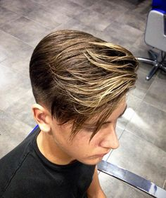 Haircut by dspaghetto_barber http://ift.tt/1NckqvK #menshair #menshairstyles…