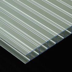 POLICARBONATO CELULAR - La translucidez de este plástico semirrígido lo hace un material perfecto para trabajar en aplicaciones en las que interviene la luz natural o artificial: techos, mamparas divisorias, claraboyas, ...
