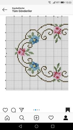 Bargello, Cross Stitch Designs, Hobbies And Crafts, Flowers, Towels, Hemline, Aprons, Rugs, Dots