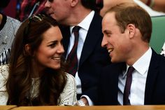 Catherine, Duchess of Cambridge and Prince William Duke of Cambridge attend day nine of the Wimbledon Lawn Tennis Championships at the All England Lawn Tennis and Croquet Club at Wimbledon on July 2, 2014 in London, England.