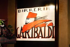 THE REAL ITALY # BIRRERIA GARIBALDI