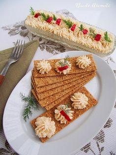 Salata de icre Tasty, Yummy Food, Diy Food, Food And Drink, Bread, Foods, Salads, Food Food, Food Items