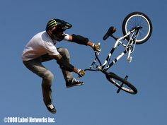 BMX Freestyle Vert competition