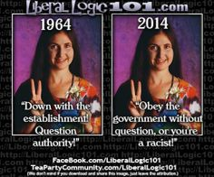 How the New World Order has succeeded in redefining the traditional definition of a left wing liberal.    #LiberalLogic